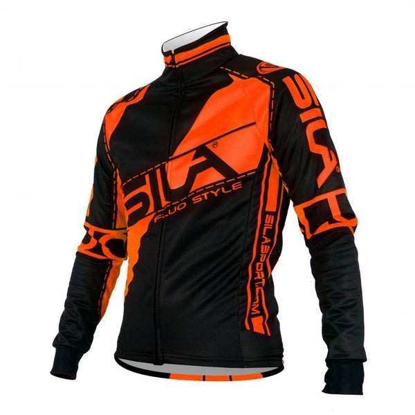 VESTE THERMIQUE SILA FLUO STYLE 3 ORANGE Référence 2731 - Montreal Internationnal Sports