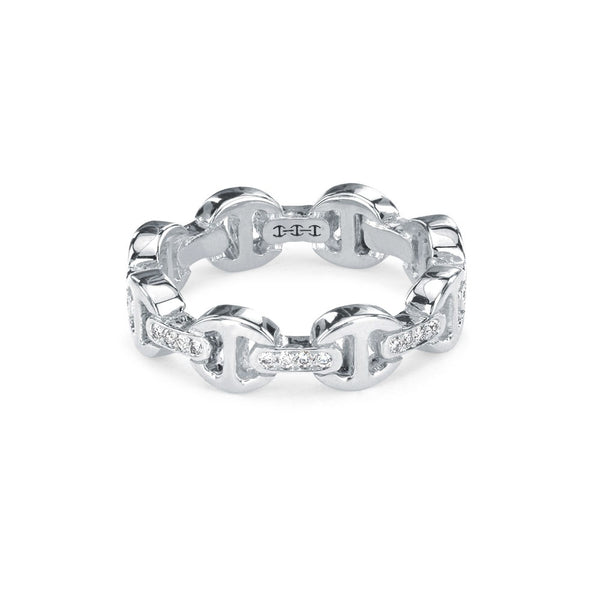 Dame Tri-Link w/ Diamond Bridges Ring