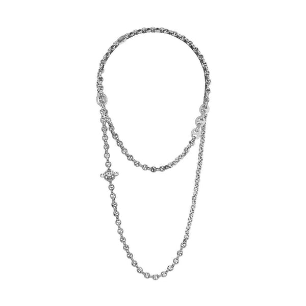 5MM Open-Link Diamond Pendant Necklace