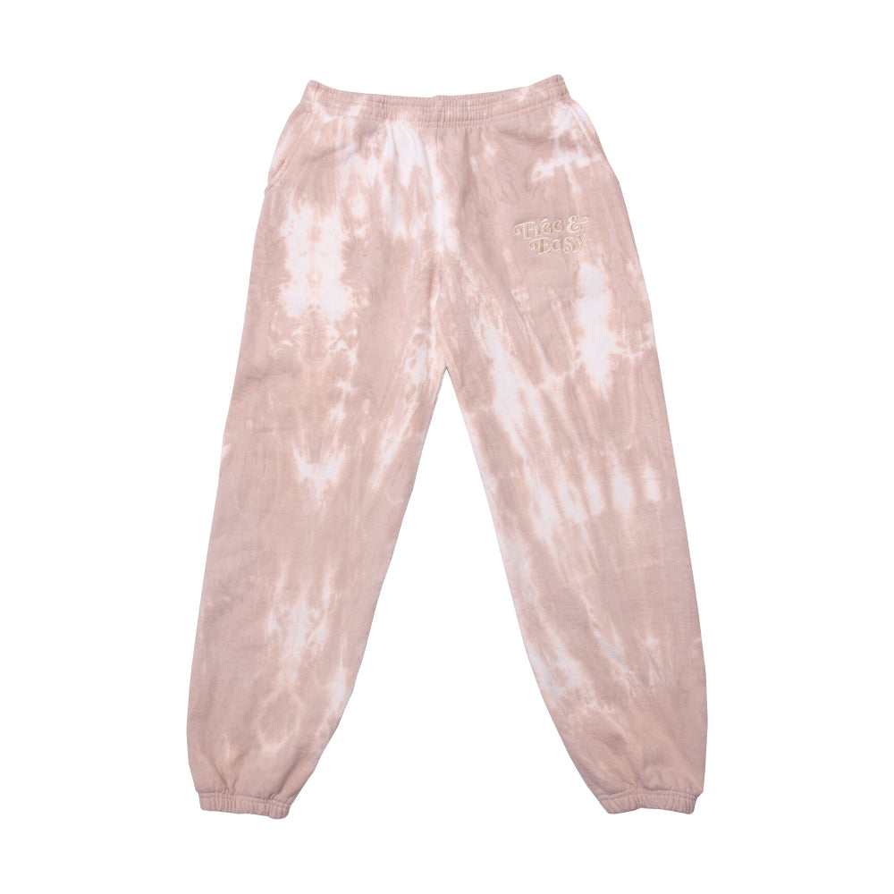 Tie Dye Heavy Fleece Pants