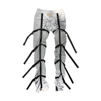 Reflective Nylon Bondage Pants