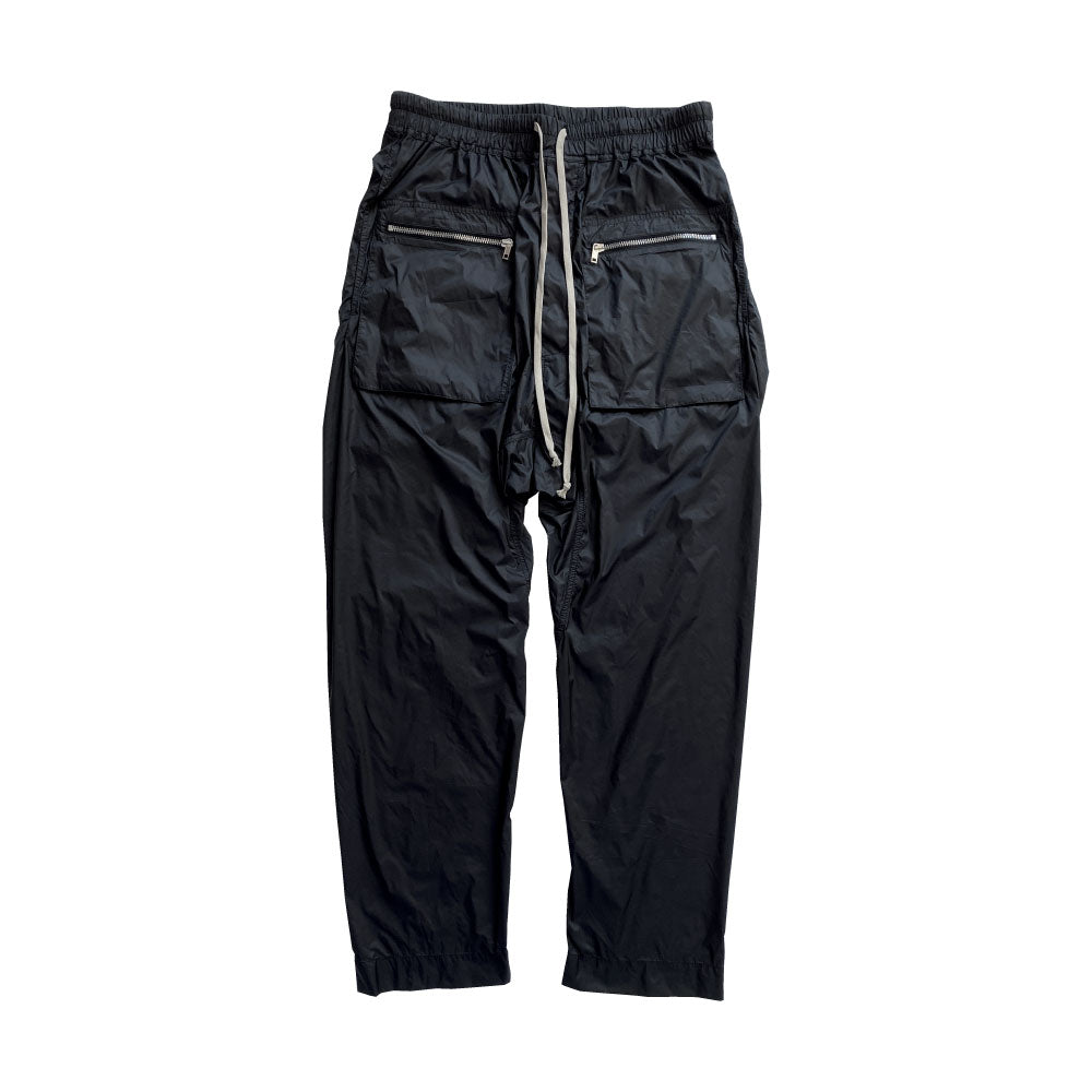 Nylon Cargo Drawstring Pants