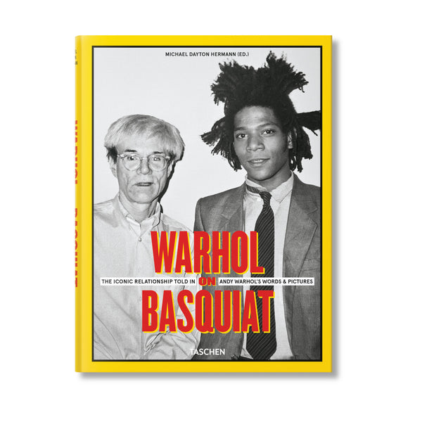 Warhol on Basquiat Book