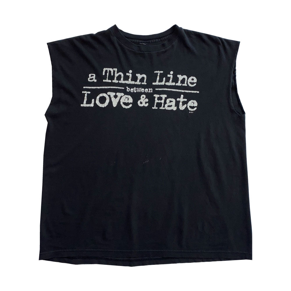 Vintage Thin Line Muscle Tee