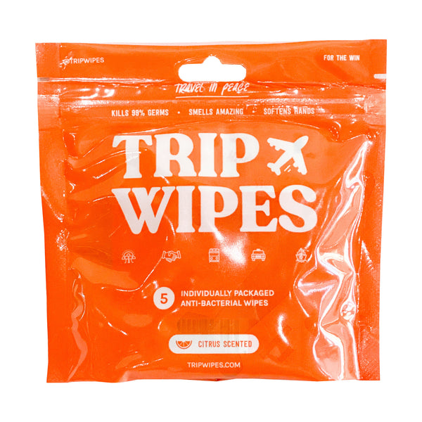 5 Wipe Travel Pack