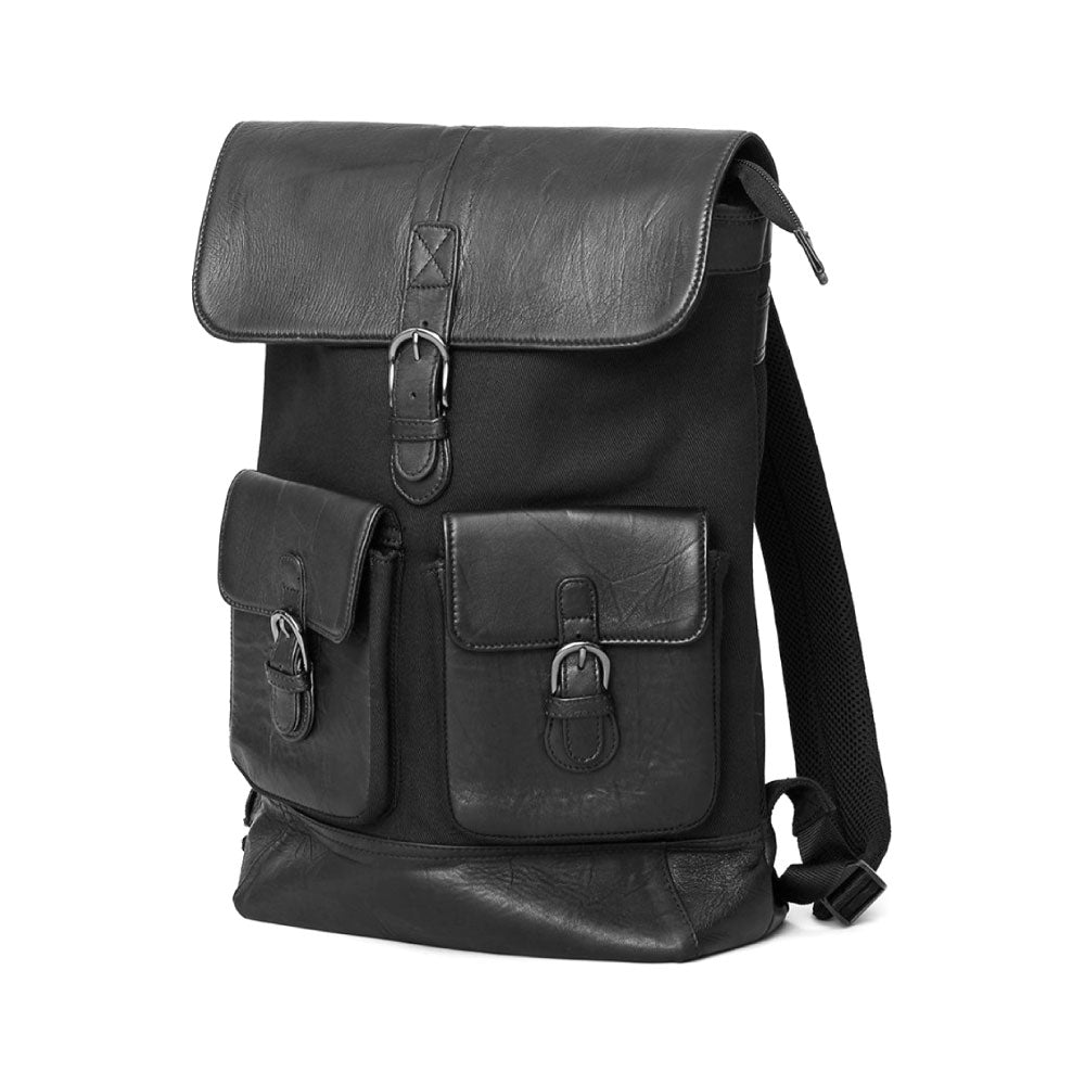 Recycled Leather Backpack