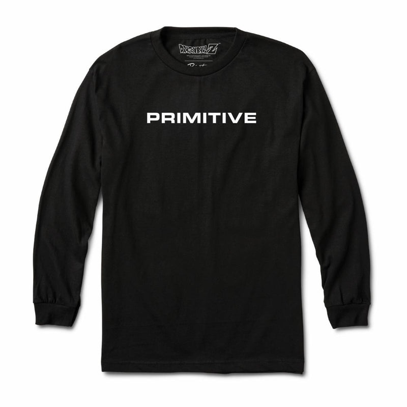 Primitive x Dragon Ball Z Goku Power Up Long Sleeve - Black