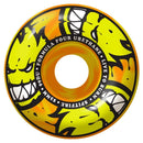 Spitfire Formula Four 99D Afterburners Orange/Yellow Swirl Classic Skateboard Wheels