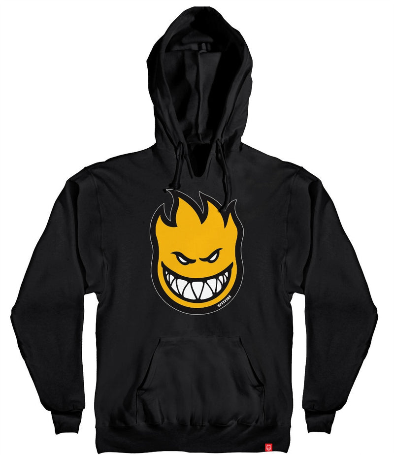 Spitfire Youth Boys Bighead Fill Hoodie - Black/Yellow