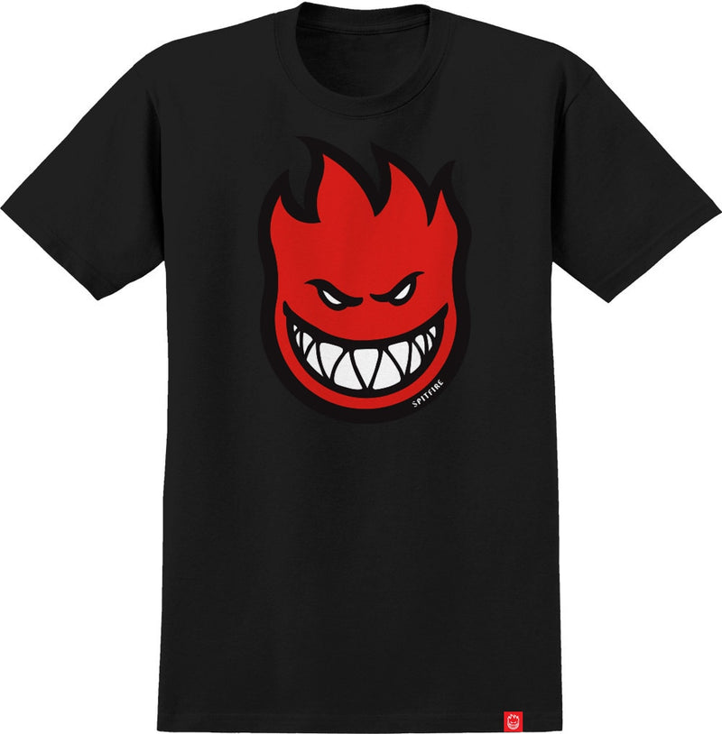 Spitfire Boys Bighead Fill HD Tee - Black/Red