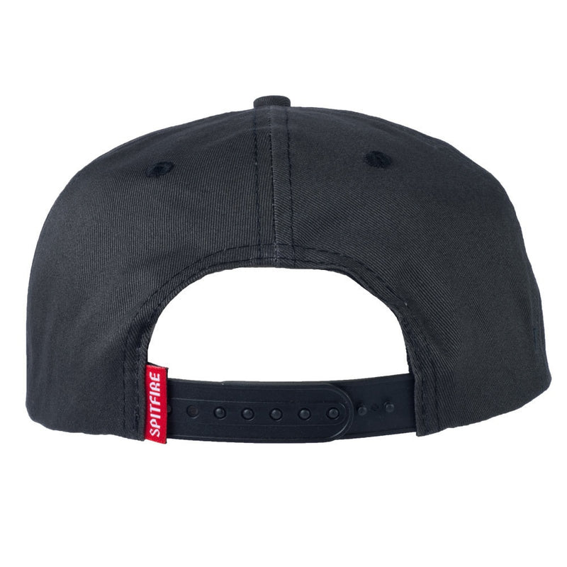 Spitfire Bighead Unstructured Snapback - Black/White
