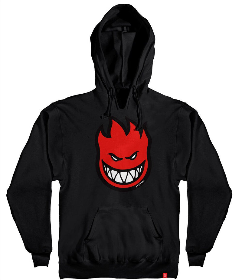 Spitfire Youth Boys Bighead Fill Hoodie - Black/Red