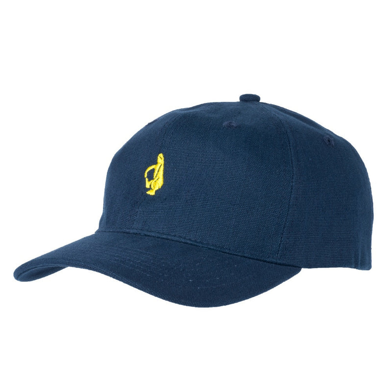Krooked Shmolo Embroidered Strapback Dad Hat - Navy