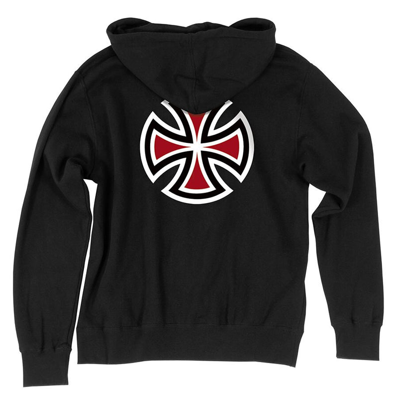 Independent Bar/Cross Regular Pullover hoodie- Black