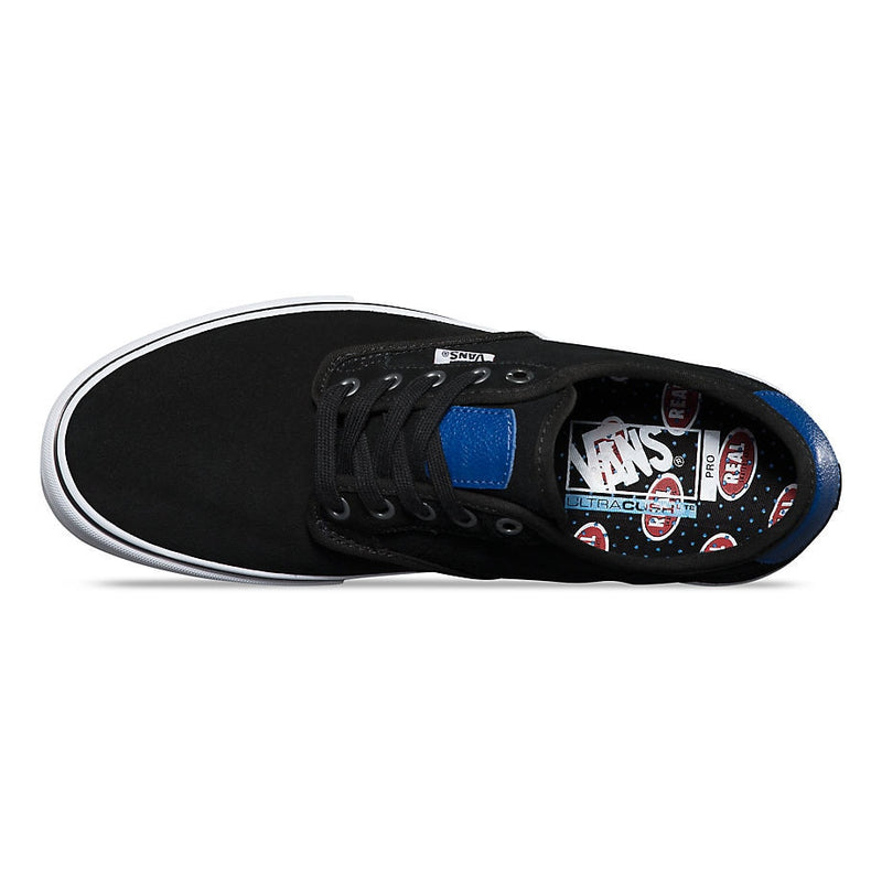 Vans X Real Skateboards Chima Ferguson Pro - Black / True Blue