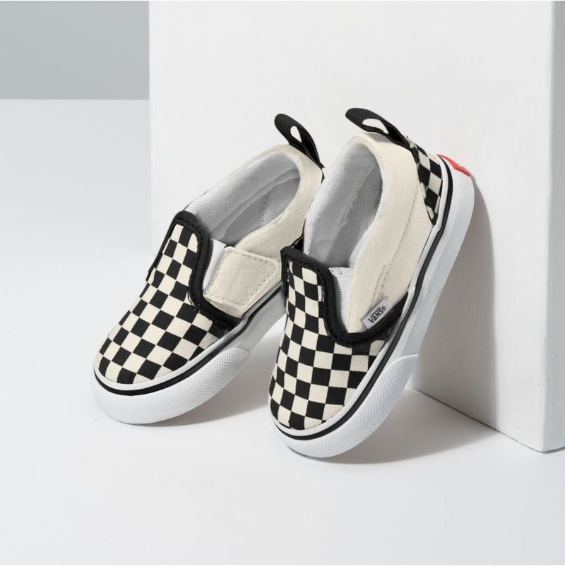 Checkerboard Toddler Slip-On Vans Shoes