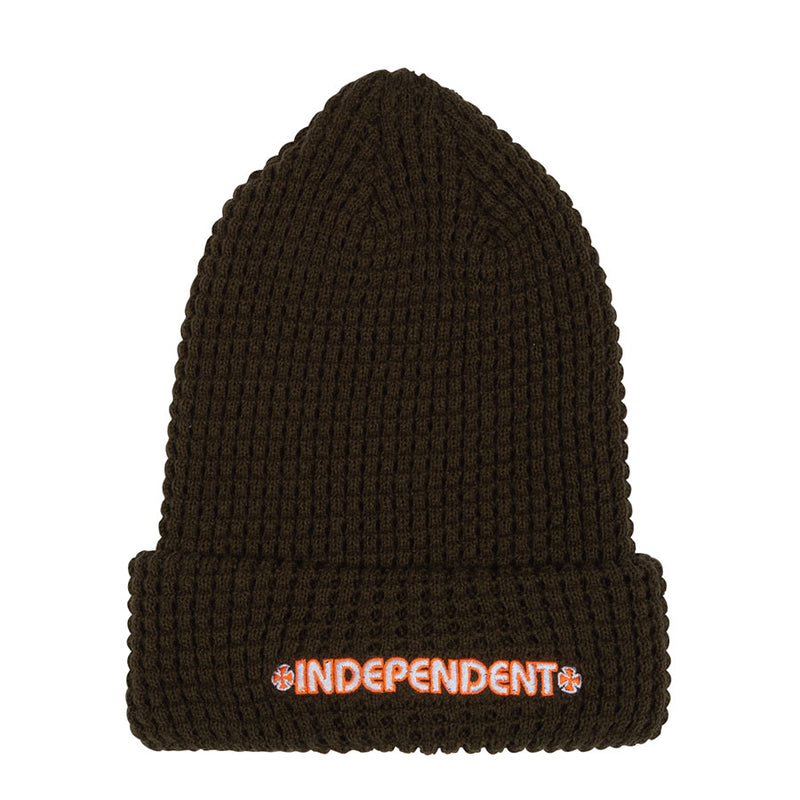 Army Green Uphold Independent Trucks Beanie
