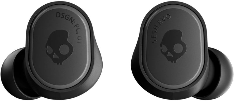 True Black Sesh Evo Wireless Skullcandy Ear Buds