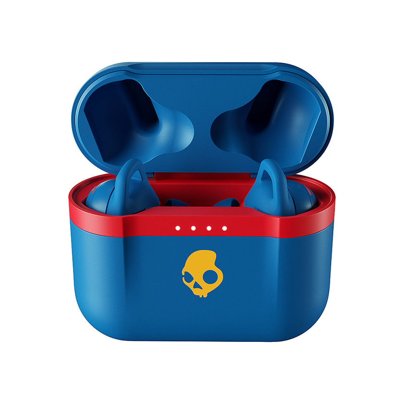 92 Blue True Wireless Indy Evo Skullcandy Ear Buds Charging Case