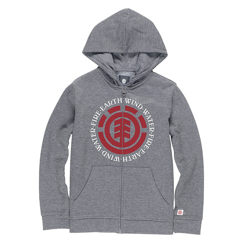 Element Seal Boys Hoodie - Heather Grey