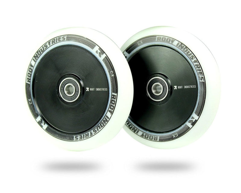 Root Industries Air Scooter Wheels - White/Black (Set of 2)