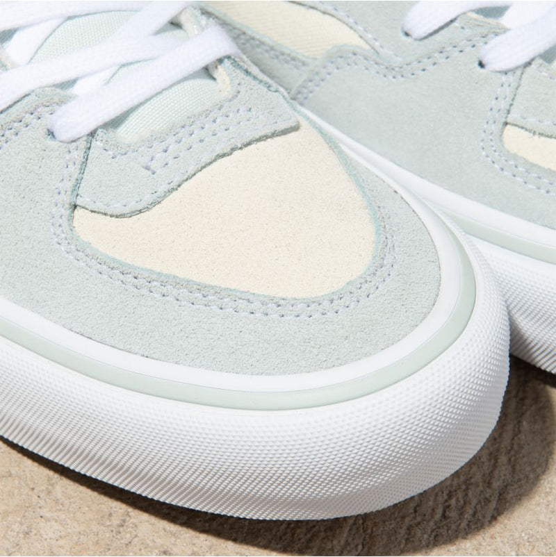 Sprout Green Half Cab Pro Vans Skate Shoes Detail