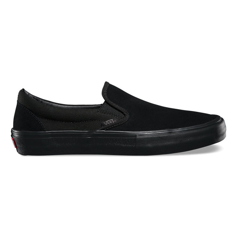 Vans Slip On Pro Skate Shoes - Blackout