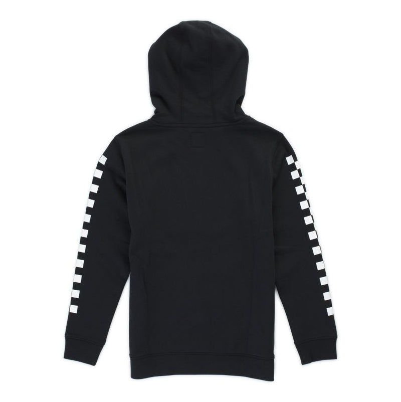 Vans Youth Boys Off The Wall Hoodie - Black/Checkerboard