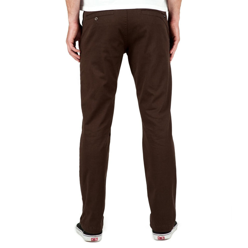 Volcom Frickin Modern Stretch Chino Pants - Bark Brown