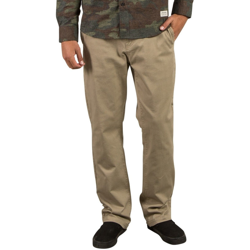 Volcom Frickin Regular Chino Pants - Khaki