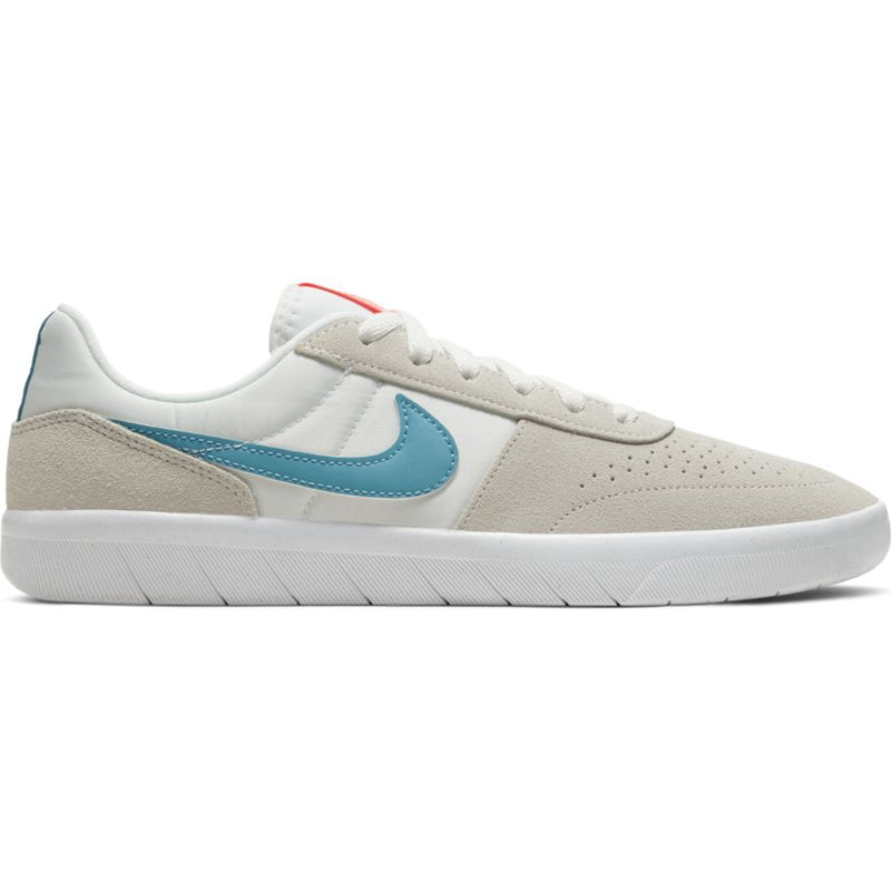 White Team Classic Nike SB Skateboarding Shoe