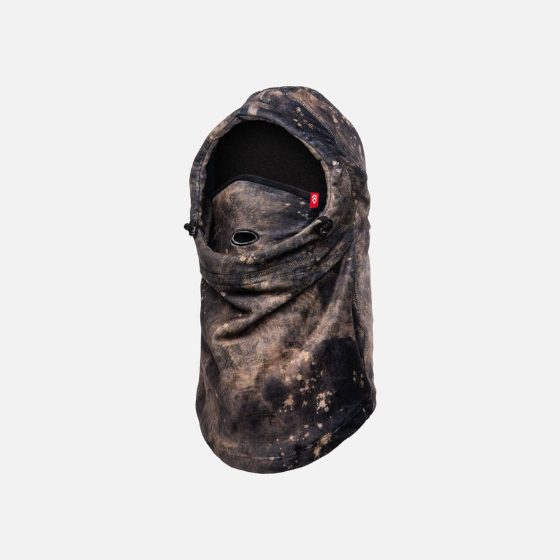 Speckle Milk Fleece Airhole Airhood Snowboard Mask