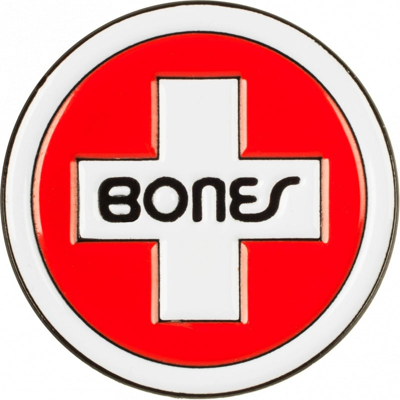 Bones Swiss Circle Cross Logo Lapel Pin