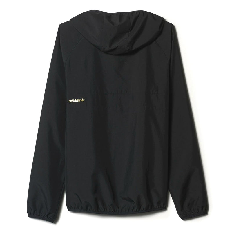 Adidas Blackbird Windbreaker (Packable) Jacket - Black/Gold