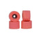 Abstract 105A Vintage Bowl Urethane Fingerboard Wheels - Bright Coral