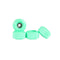 Mint Abstract Conical Fingerboard Wheels