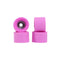 Fuschia Abstract Mini Conical Fingerboard Wheels