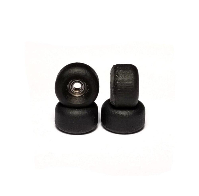 Black 105a abstract real urethane fingerboard bearing wheels
