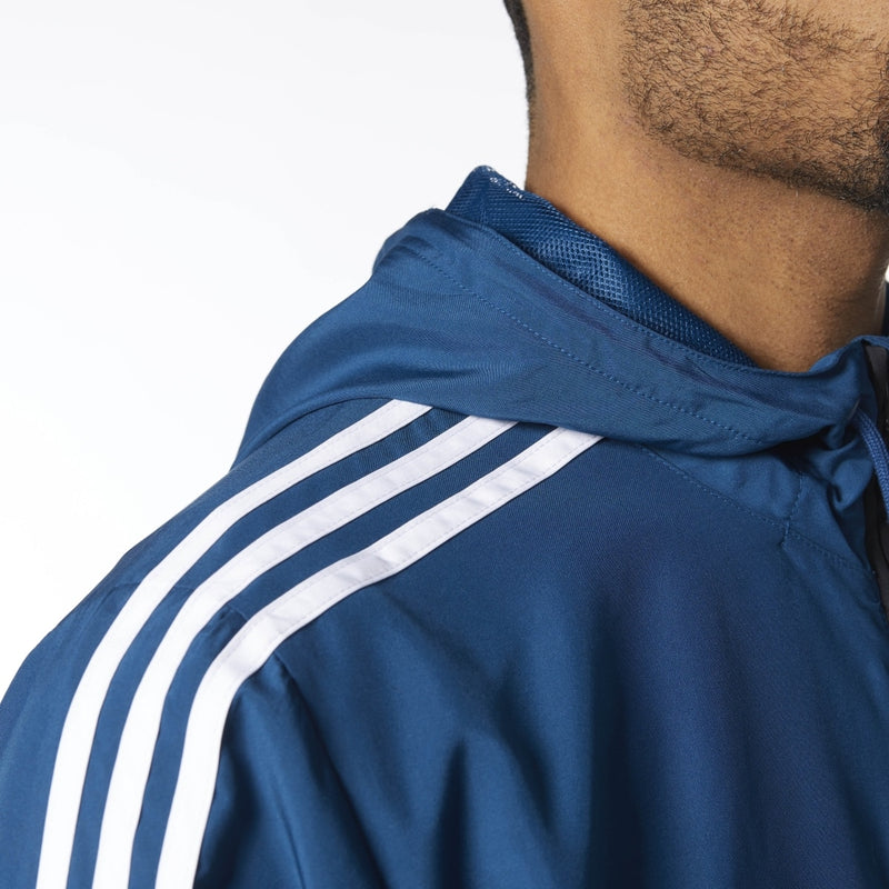 Adidas Premier Windbreaker Jacket - Black/Blue Night/White
