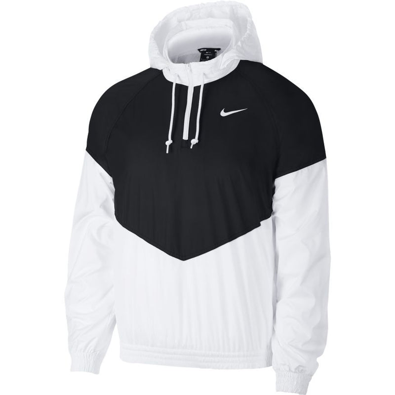 Nike SB Shield Coaches Jacket - Black/White/White
