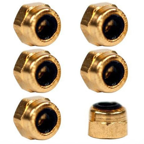 BlackRiver First Aid Lock Nuts - 6pk