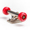 Red Blackriver Street Dogs Fingerboard Wheels On Truck