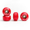 Red Blackriver Street Dogs Fingerboard Wheels