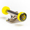 Yellow Blackriver Street Dogs Fingerboard Wheels On Truck