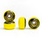 Yellow Blackriver Street Dogs Fingerboard Wheels