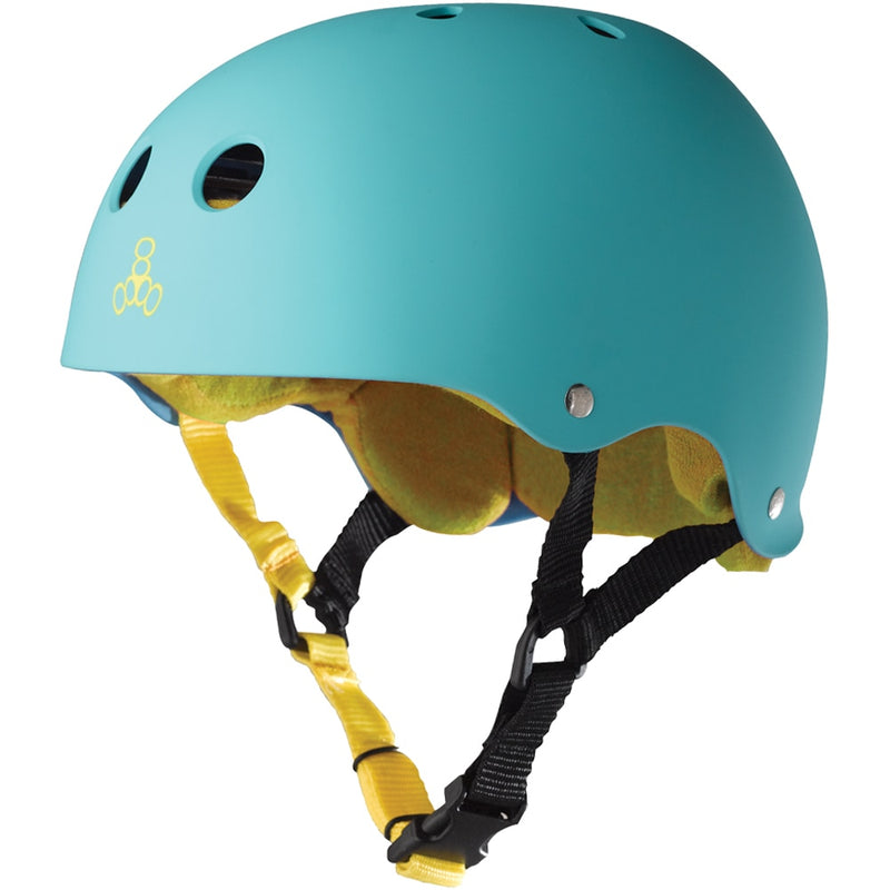 Triple 8 Brainsaver Helmet - Baja/Teal/Rubber