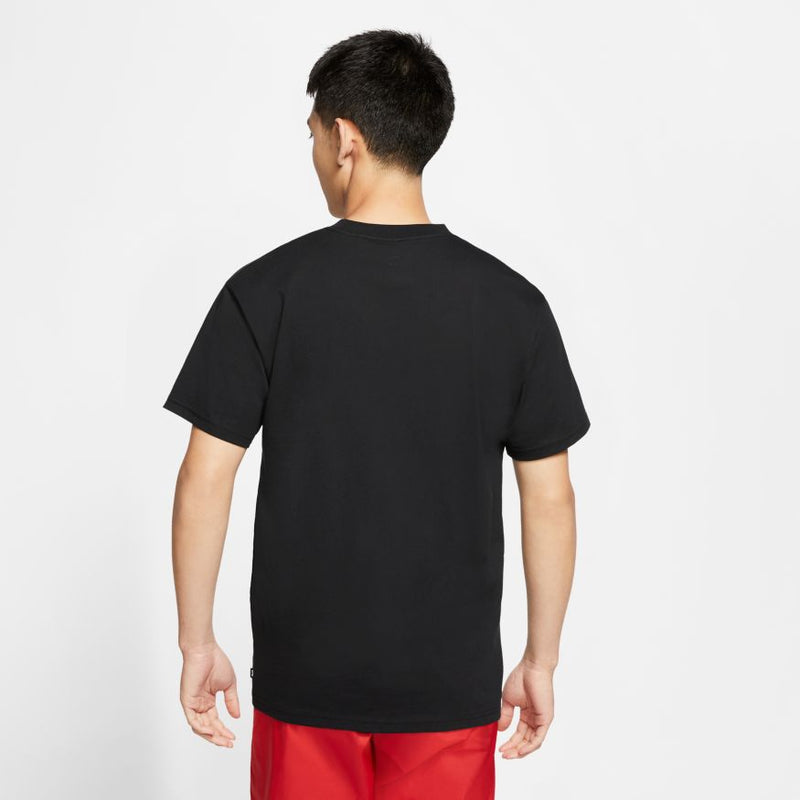 Black Yoon Air Logo Nike SB T Shirt Model Back