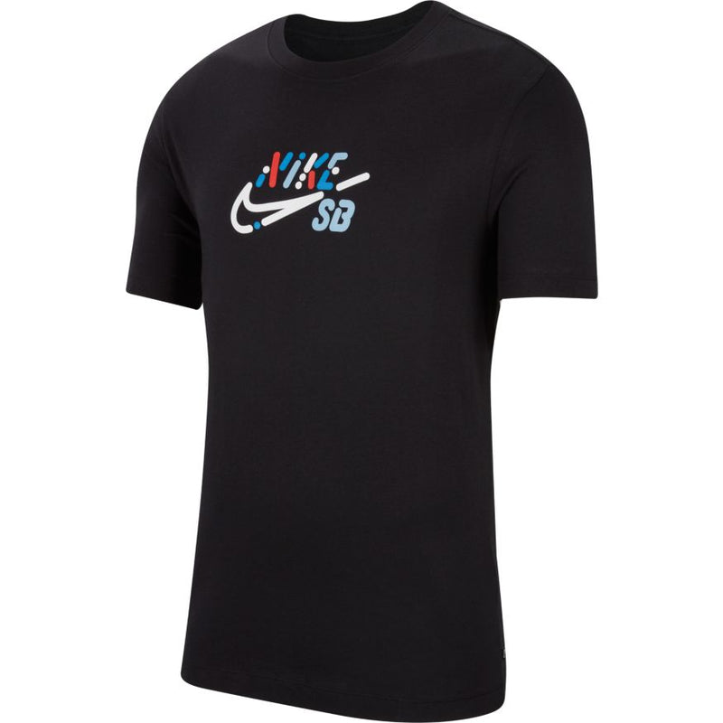 Black Yoon Air Logo Nike SB T Shirt Front