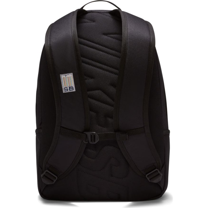 Black Nike SB Icon Skate Backpack Back