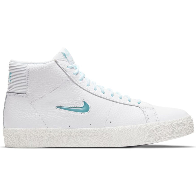 Premium Northwest Leather Blazer Mid White Nike Sb Skateboarding Shoe